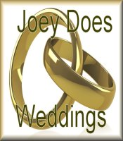 Let Joey provide the Music for YOUR wedding.